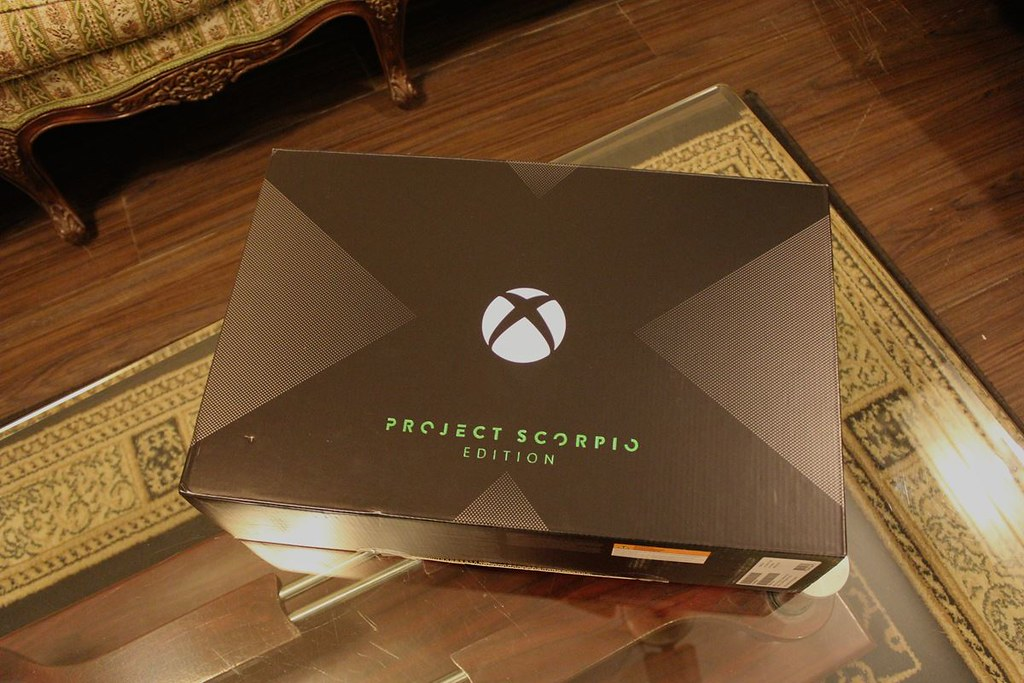 Unboxing] XBOX ONE X :: Project Scorpio Edition