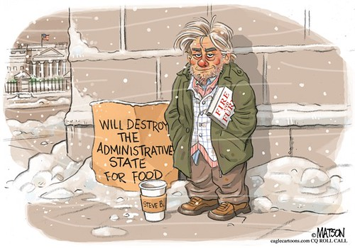Steve Bannon Out in the Cold