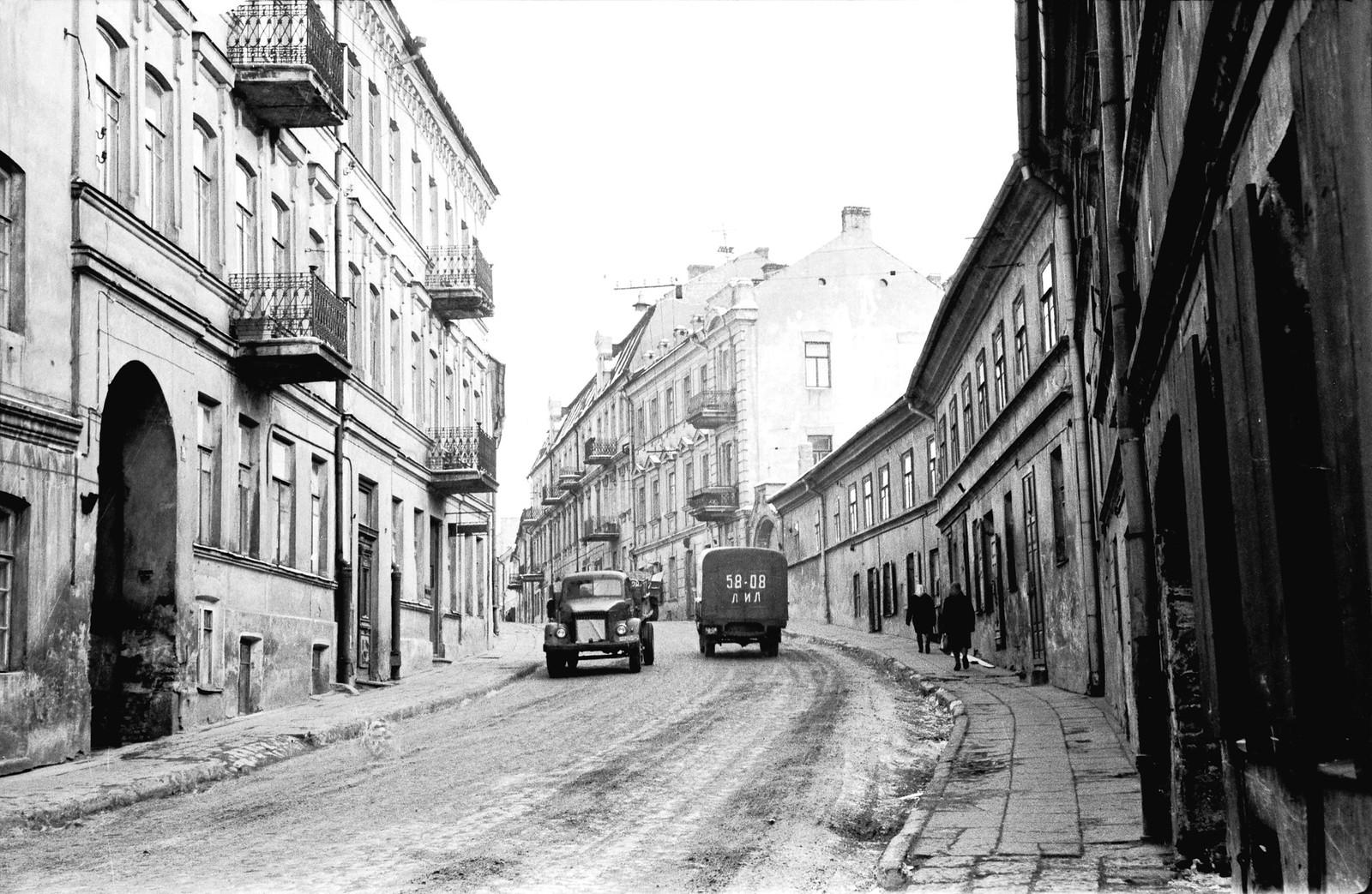 1969. Литва. Вильнюсский уезд. Вильнюс. район Сенаместис