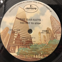 BAR-KAYS:TOO HOT TO STOP(LABEL SIDE-B)