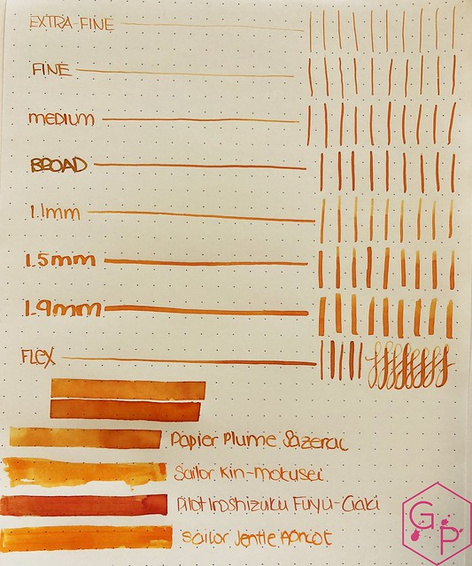 Ink Shot Review @Papier_Plume Sazerac @cohobbyist 5