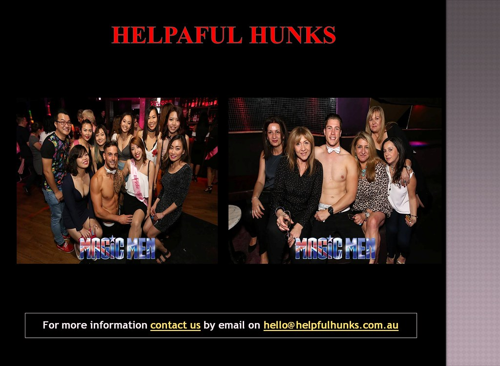 Male Strippers, Male Strip Clubs in Melbourne