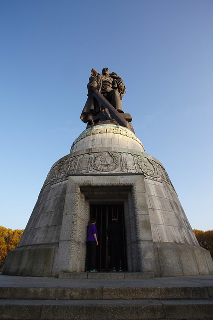 The Soviet War Memorial in Treptower Park