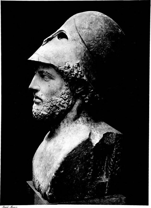 Bust of Pericles in British Museum