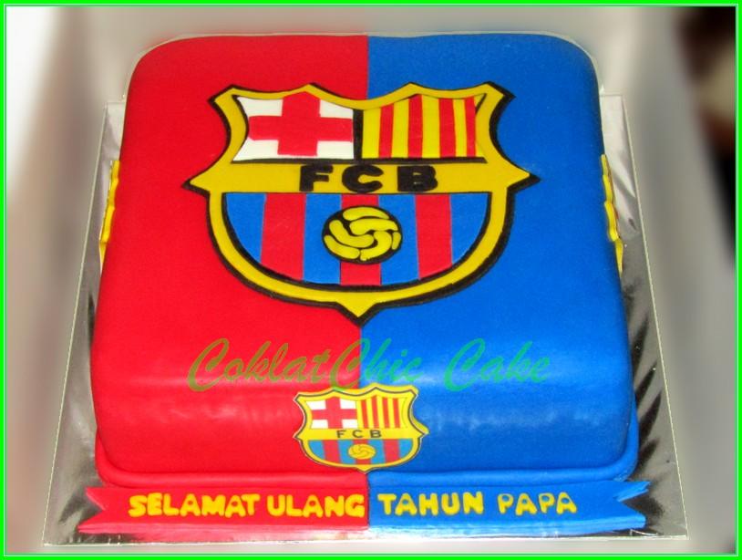 Cake FC Barcelona PAPA 24cm