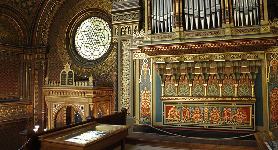 De Joodse wijk van Praag: Spaanse Synagoge | Mooistestedentrips.nl