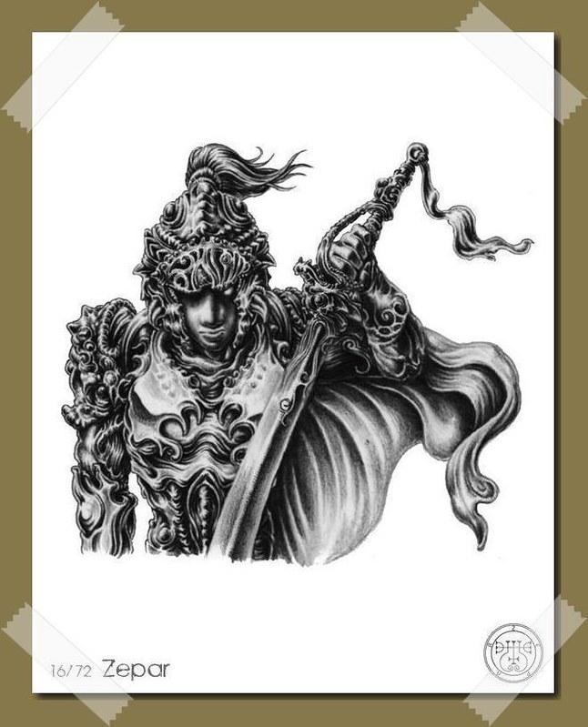 Zepar - Demon and Spirit of Solomon