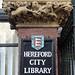 Library, Hereford 20 December 2017