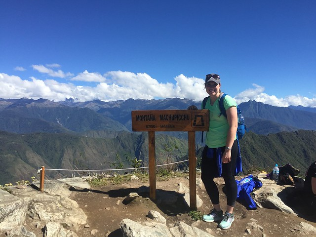 Allison Koehn in Peru