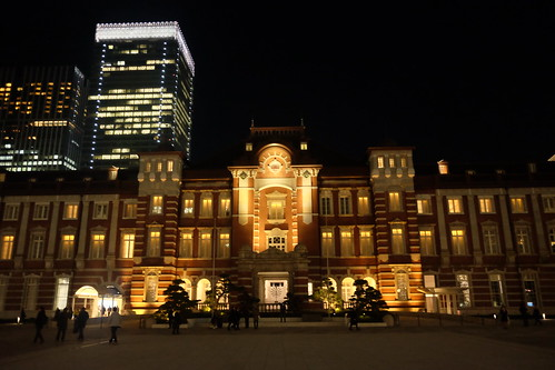 Tokyo Station square 01