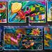 Graffiti Hall of Fame - Harlem Collage (TATS CRU)