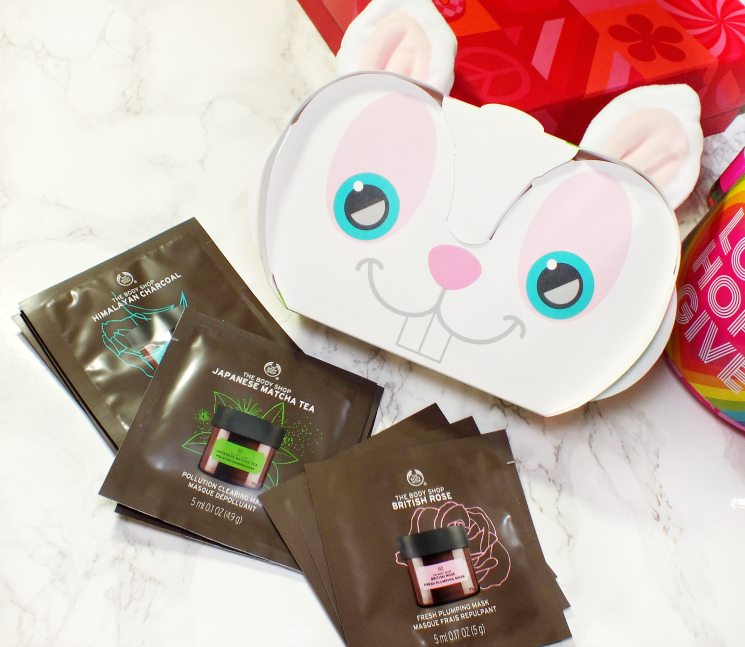 the body shop mask sampler set