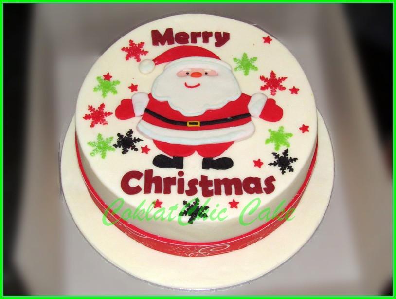 Cake Merry Christmas 20cm