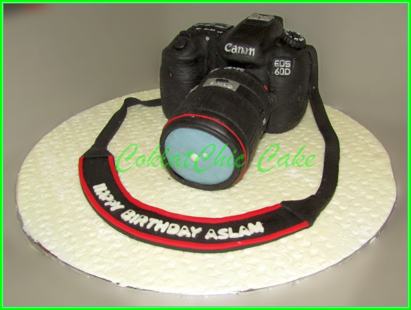 Cake Canon EOS 60D ASLAM Real Size