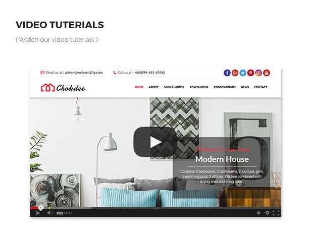 Chokdee - Responsive Real Estate Muse Template - 10