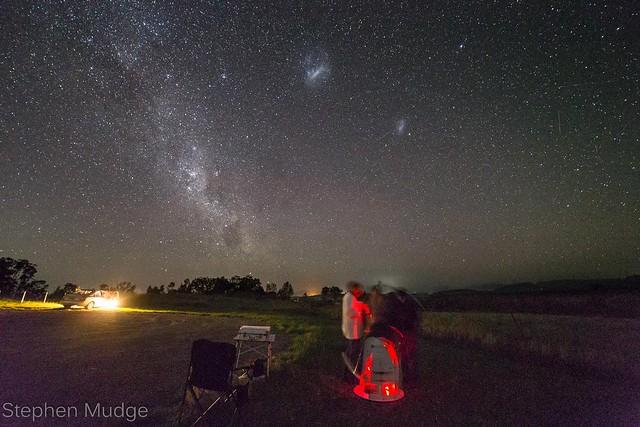 Astronomy timelapse