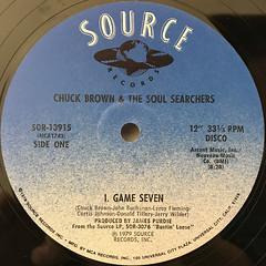 CHUCK BROWN & THE SOUL SERCHERS:GAME SEVEN(LABEL SIDE-A)