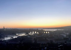 Sunrise over Berwick