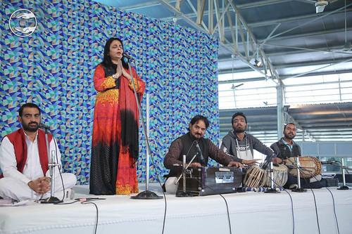 Devotional song by Anjali Malik from Algeria