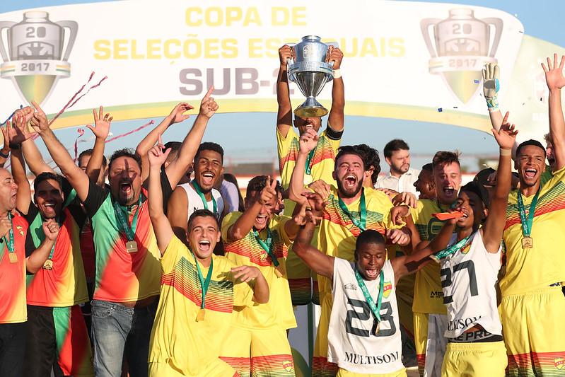 Rio Grande do Sul Campeão da Copa de Seleções Estaduais Sub-20