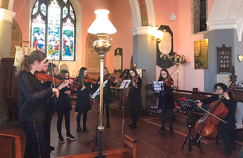 The St Louis Dundalk girls who participated in the Ardee Baroque Festival on November 25, 2017