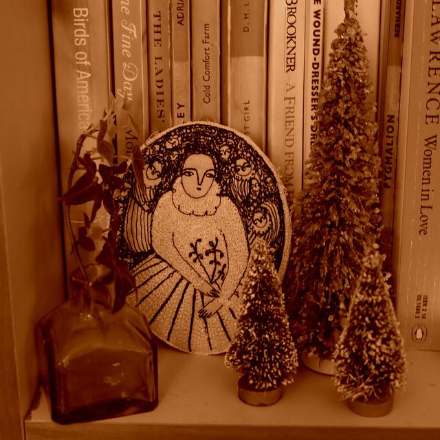 a sepia Christmas