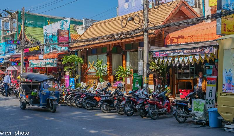 Rachadamnoen Road, Chiang Mai, Tailandia