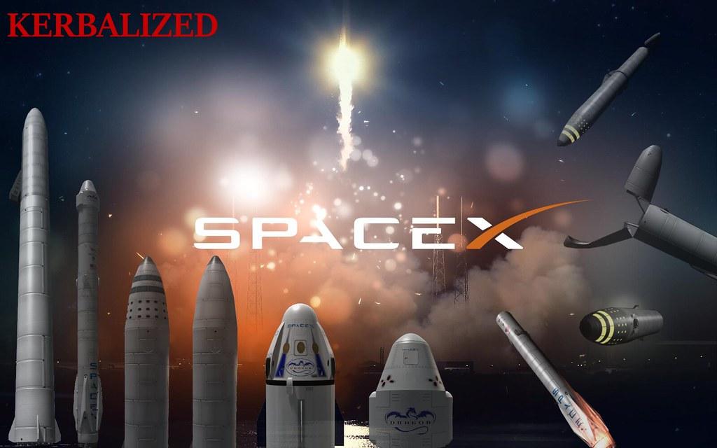 Kerbalized Spacex Mods Kerbal Space Program Curseforge