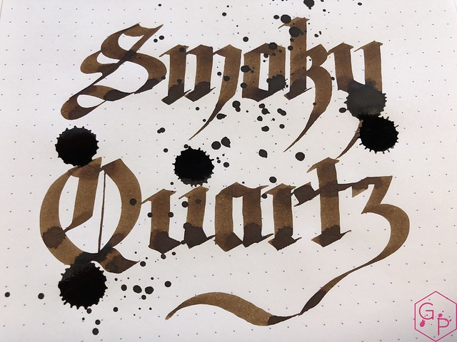 Ink Shot Review Pelikan Edelstein Smoky Quartz @Pelikan_World @AppelboomLaren @Pelikan_de 10