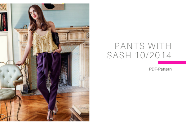 Pants with Sash