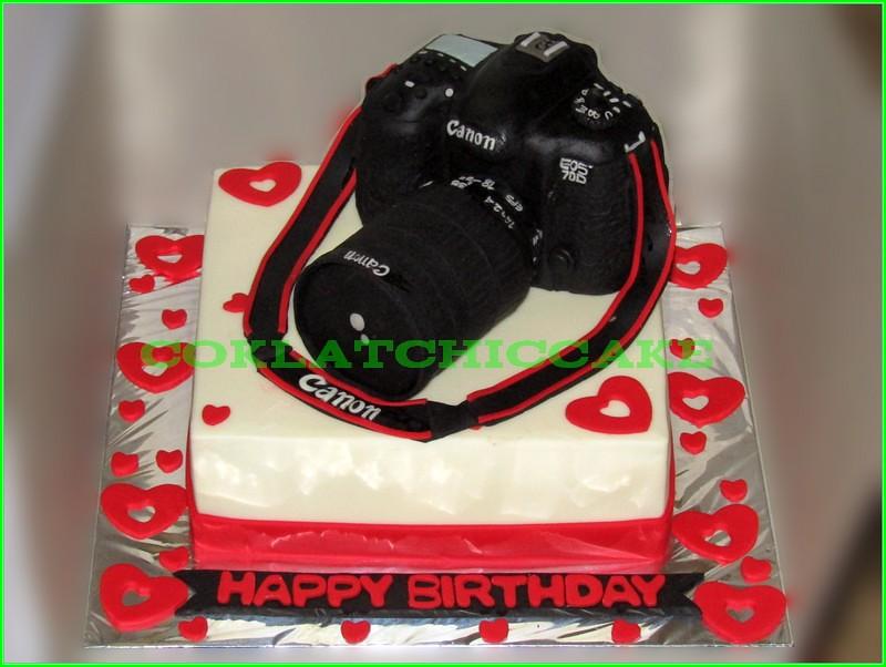 Cake Camera Canon EOS 70D 20cm
