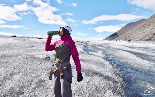 Iceland packing list for summer - what to wear for hiking the glacier in Iceland