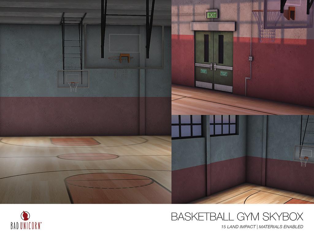 NEW! Basketball Gym Skybox @ TMD - TeleportHub.com Live!