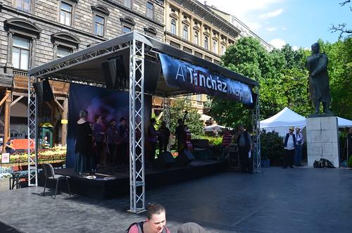 Umsonst und draußen Fest in Budapest