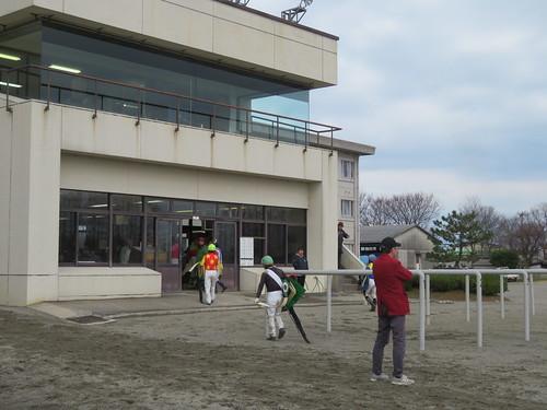 金沢競馬場の検量室