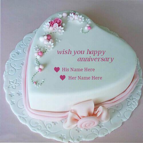Anniversary Cake Name