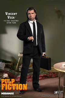 影史經典的妞妞舞殺手!Star Ace Toys - 《黑色追緝令》1/6 比例文生·韋格 Vincent Vega