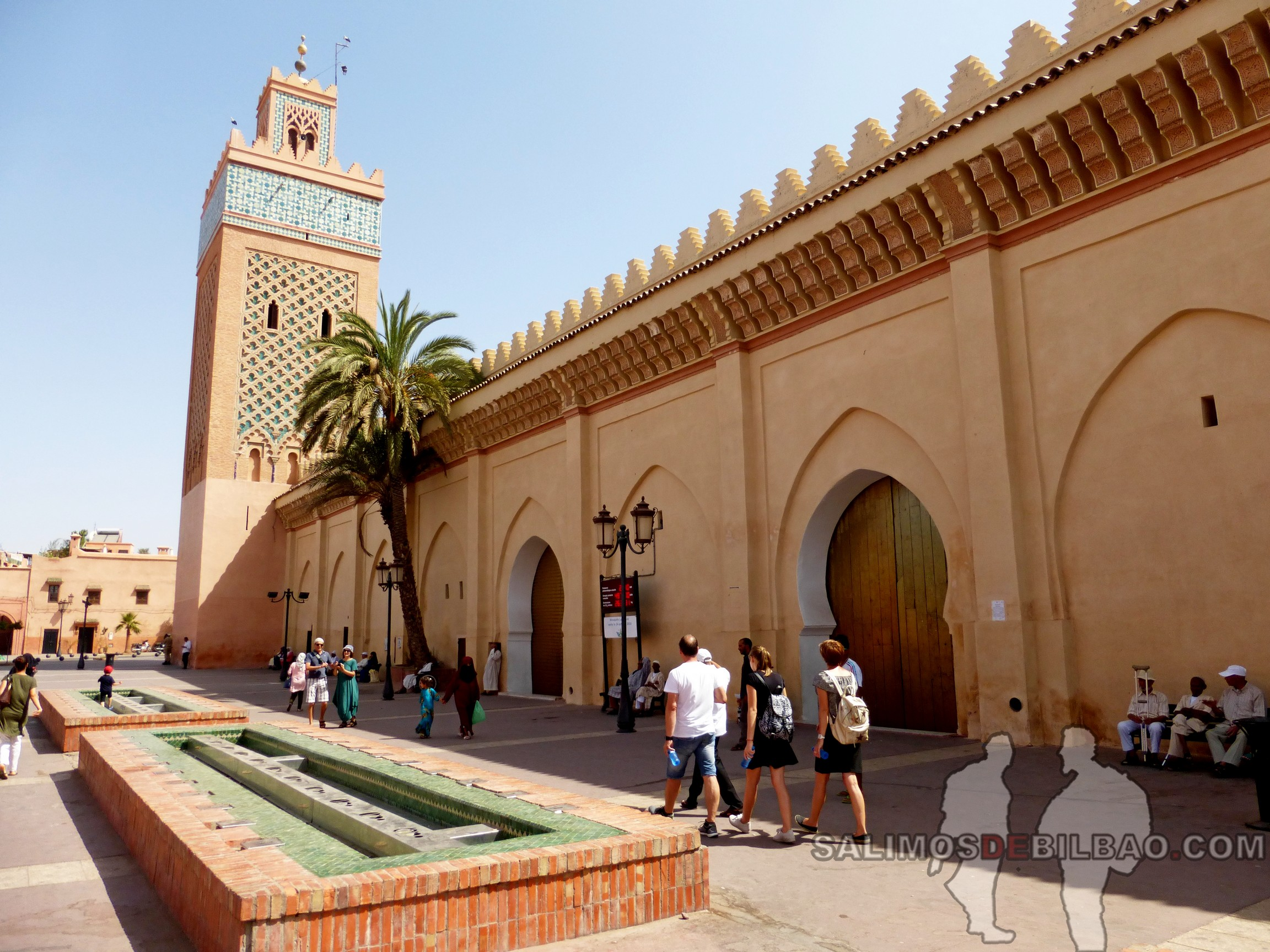 728. Tumbas saadíes, Marrakech