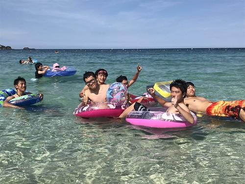 ほんとに笑っぱなしの最高の旅だった〜!😁💕💕💕 ぅちら仲よすぎ😻😻 こういちの溺れ方思い出すと今でも笑える😂笑笑