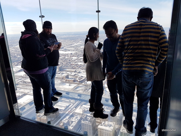 Skydeck Ledge transparent floor