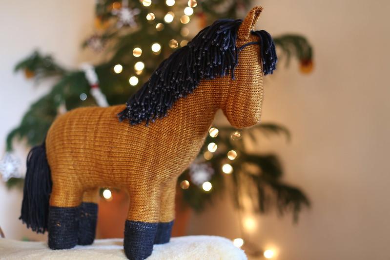 horse for K