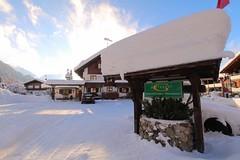 Schnee satt im Gatterhof Kleinwalsertal