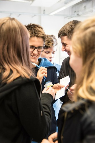 French students visit our school