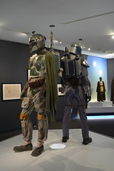 St Petersburg, FL - Museum of Fine Arts - Star Wars and the Power of Costume - Boba Fett (1983) and Jango Fett (2002)