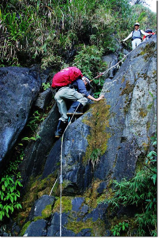 乾溪谷垂直石壁地形 4