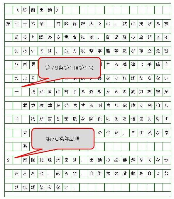 シン・ゴジラと条文の書き方 (3)
