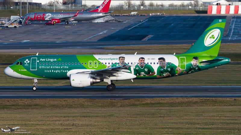 EI-DEI A320 EIN