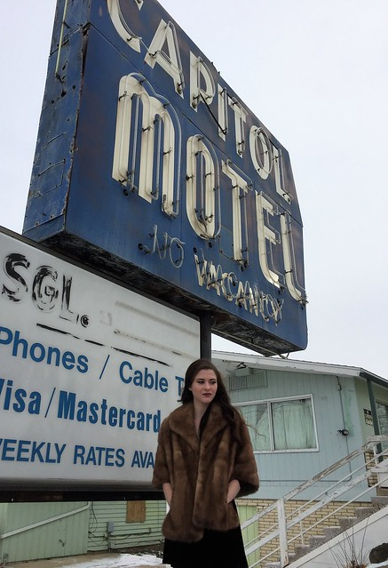 she thought to herself...there's never any vacancy...(Carly-at the capitol motel)