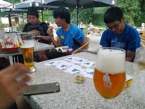 ニムトを覚えた ビールがうまい