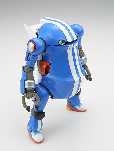 """長谷川《35機動機器人》人氣投票第二位「白色&藍色」1/35比例組裝模型 メカトロウィーゴ No.08 すぽーつ """"ほわいと&ぶるー"""""""